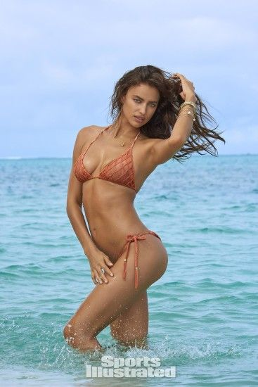 Irina Shayk was photographed by Yu Tsai in The Islands Of Tahiti. Swimsuit  by SINESIA