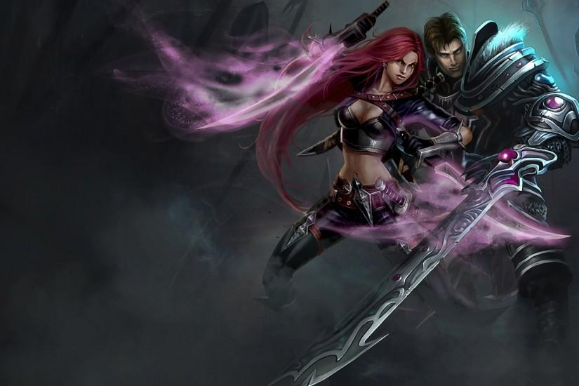 Garen & Katarina wallpaper