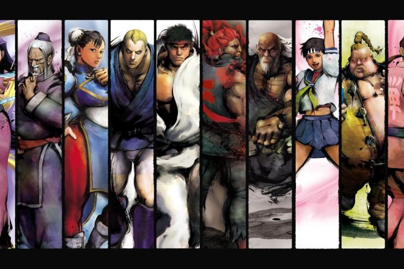 popular street fighter wallpaper 1920x1080