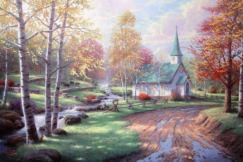 Thomas Kinkade Disney Wallpaper 40121 HD Wallpapers