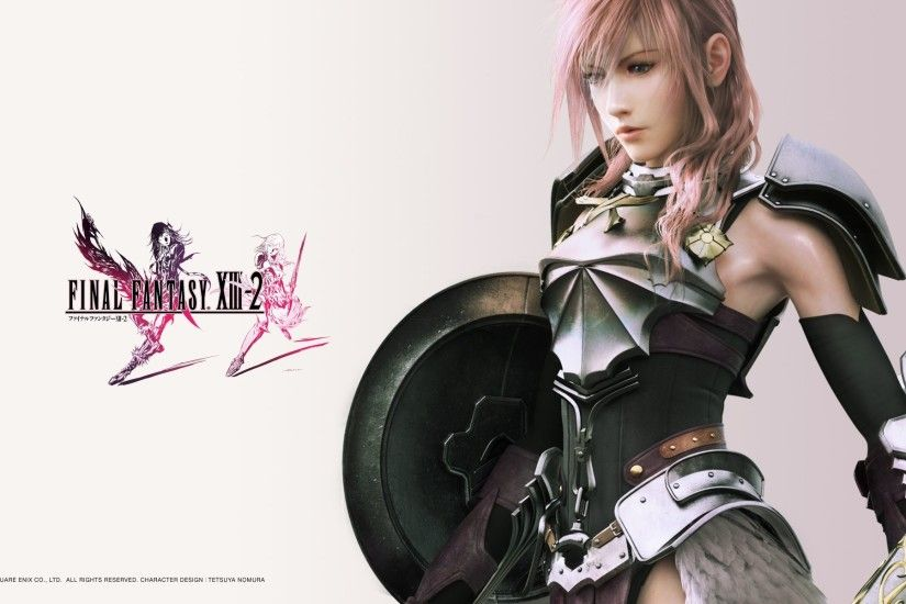 Video Game - Final Fantasy XIII-2 Final Fantasy XIII Warrior Lightning (Final  Fantasy