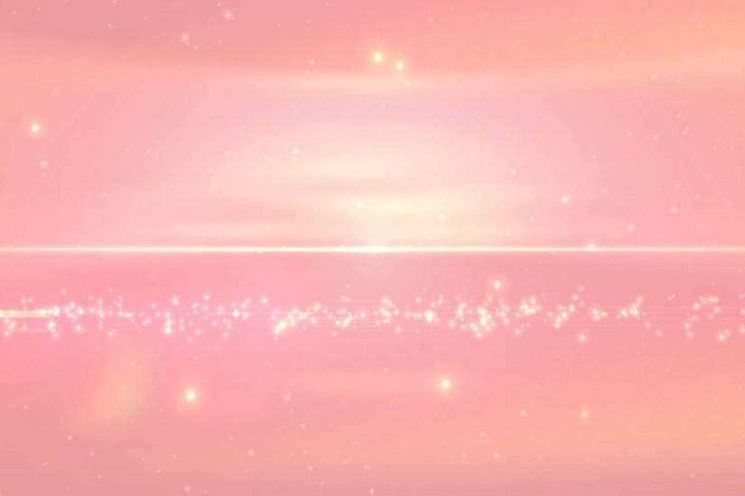 4K Peach Pink Sparkling Full of Stars 2160p Background