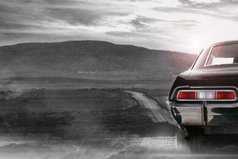 Abstract Supernatural Dean Winchester Chevrolet Impala Sam Wallpaper HD