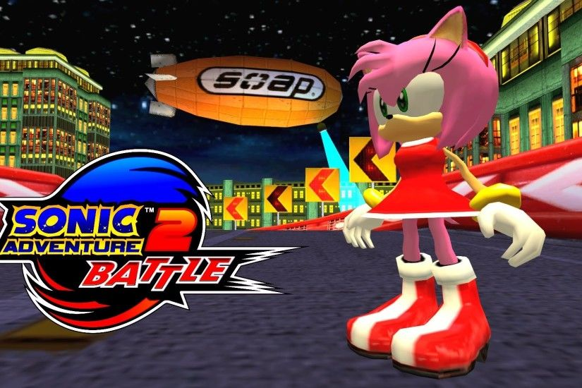 Sonic Adventure 2: Battle - Radical Highway - Amy (No HUD) [REAL Full HD,  Widescreen] 60 FPS - YouTube