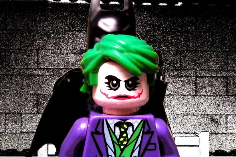 The Dark Knight Interrogation Scene in LEGO - Batman vs Joker - YouTube