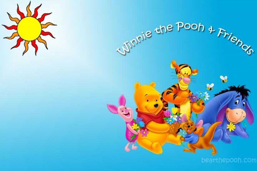 HD Pics Friendship Day Winnie The Pooh Friends Wallpaper , Free .