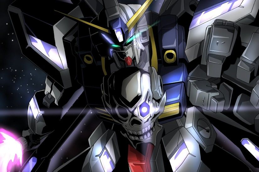 Gundam Build Fighters Crossbone Gundam Maoh mecha armor skull warrior g  wallpaper