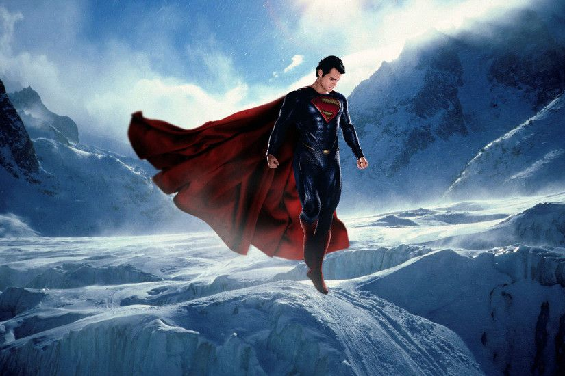 ... Superman Man Of Steel Movie Wallpapers - Wallpaper Cave ...