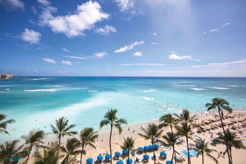 "1920x1080 Waikiki Beach Oahu Hawaii | HD Wallpapers"">"