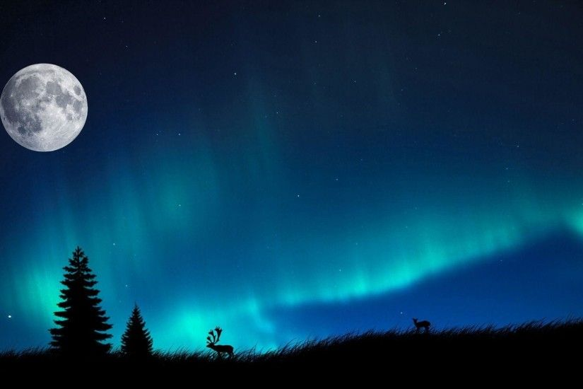 Wallpapers For > Northern Lights Wallpaper 1080p