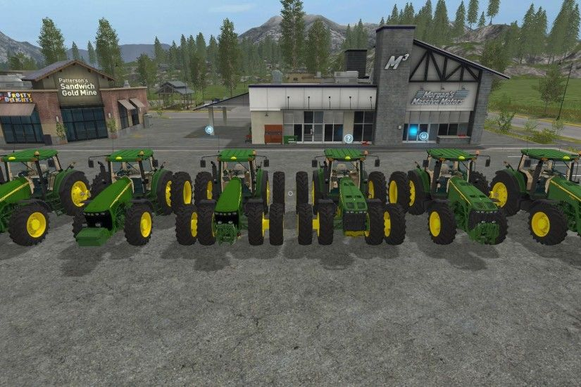 JOHN DEERE 8520/8530 USA PACK V1.0 for LS 2017