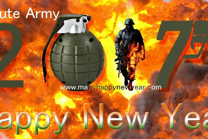 Happy New Year 2017 Indian Army