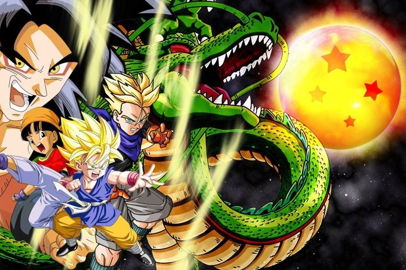 Dbz Gt Wallpapers | Epic Car Wallpapers | Pinterest | Dragon ball gt,  Wallpaper free download and Wallpaper