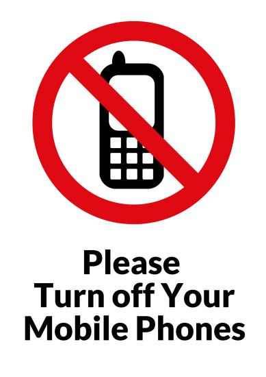 Please Turn Off Your Mobile Phones