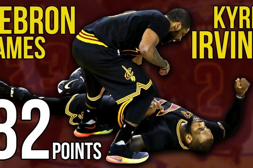 Kyrie Irving and LeBron James Combine for 82 Points in Game 5 NBA Finals  Win - YouTube