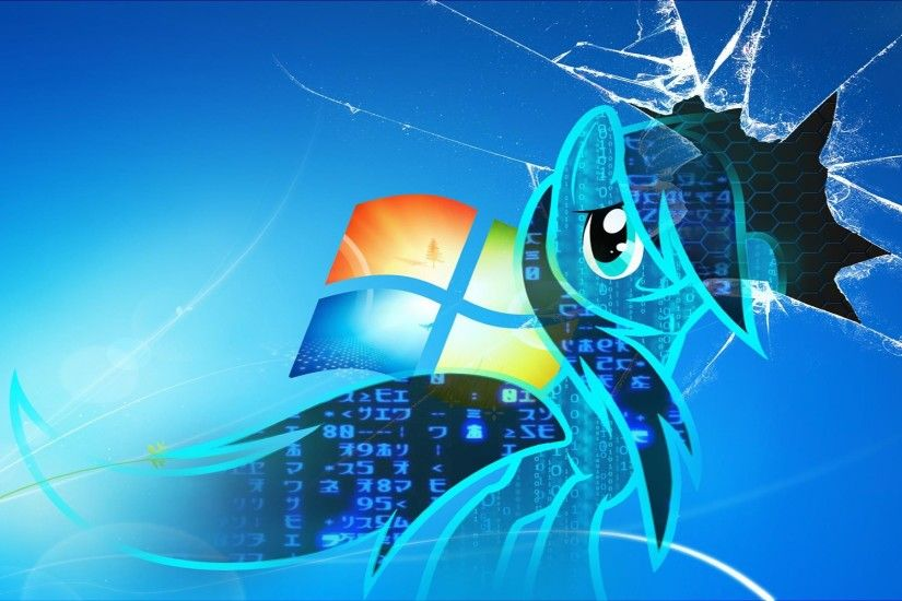 HD Broken Cracked Screen Windows Wallpaper Full Size .