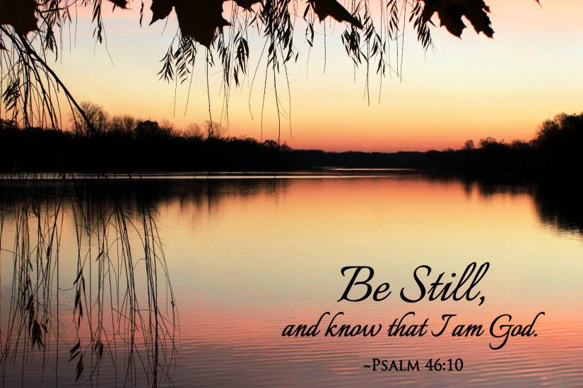 """Be Still"" - Free 8x10 Picture · """
