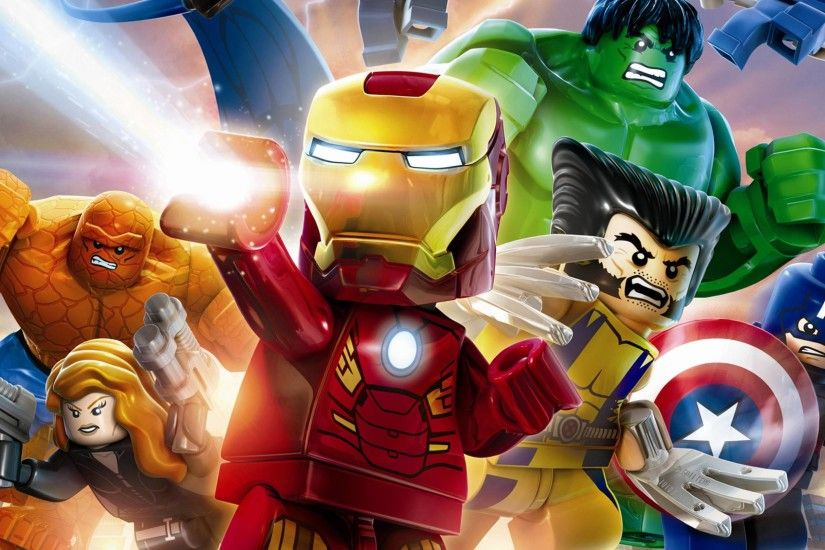Lego Marvel Superhero Wallpaper HQ Resolution #56341 - Ehiyo.
