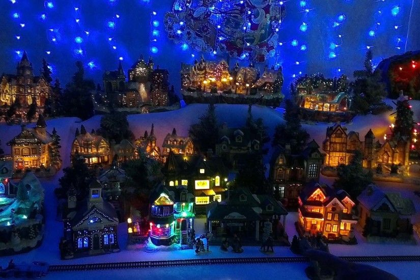 1920x1082 Christmas Village Background | Wallpapers9