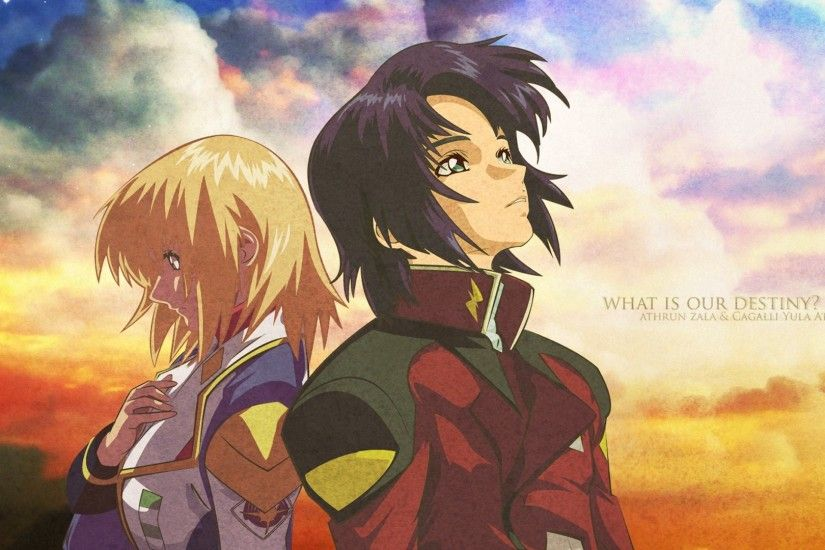 Gundam Seed and Destiny Wallpapers