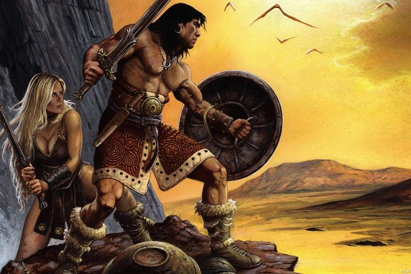 Conan The Barbarian Computer Wallpapers Desktop