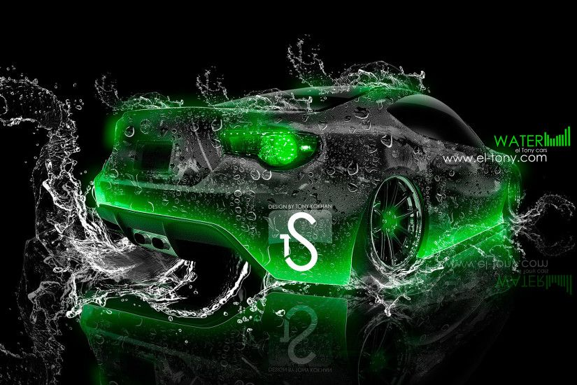 Scion-FR-S-Water-Car-2013-Green-Neon- ...