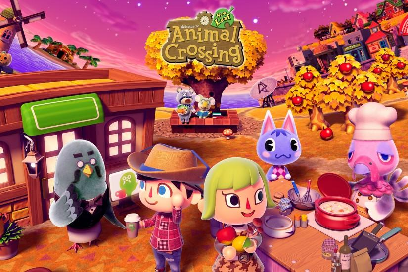 Animal Crossing New Leaf HD wallpapers
