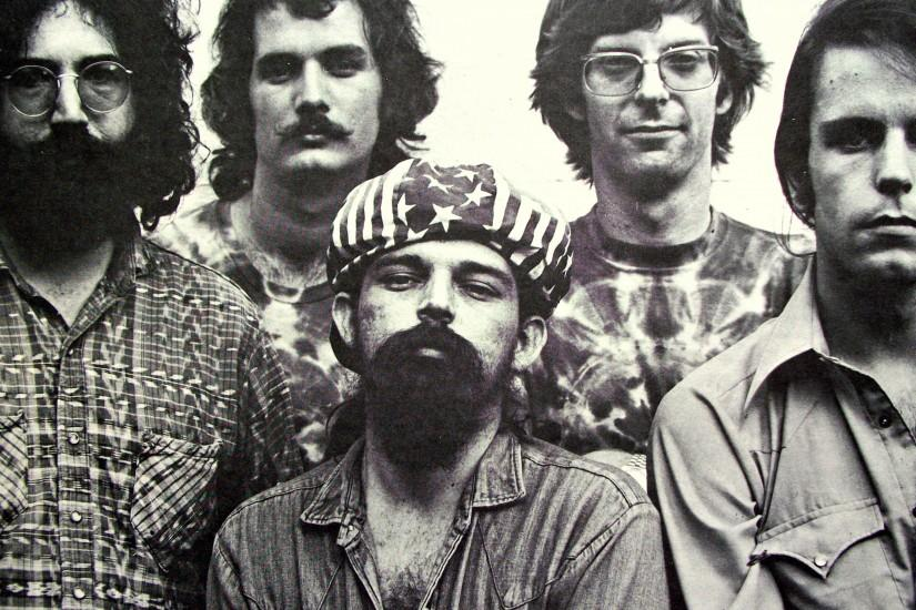 3840x2160 Wallpaper grateful dead, rock band, psychedelic rock, jerry garcia