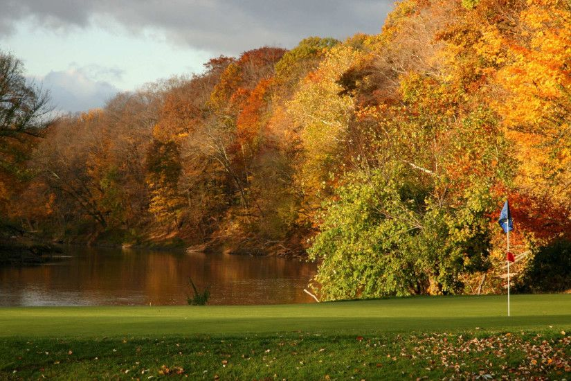 Free Download of Autumn Golf Course Wallpaper in 1080p | HD Wallpapers |  Wallpapers Download | High Resolution Wallpapers