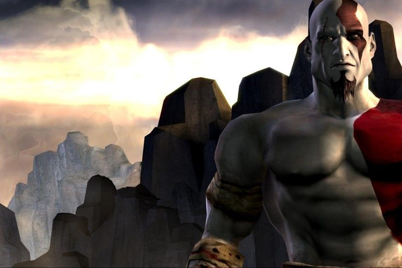 God of War II Game Wallpaper 1920×1080