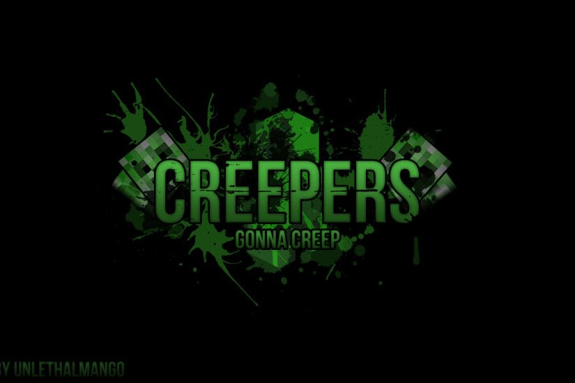 Minecraft Creeper wallpaper - 1158003