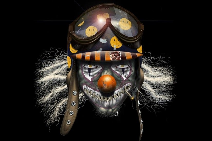 Wallpapers Clown Evil Creativity Emotion Mood 2560x2048