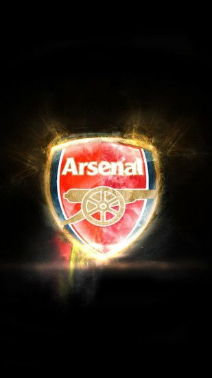 Arsenal logo S4 Wallpapers