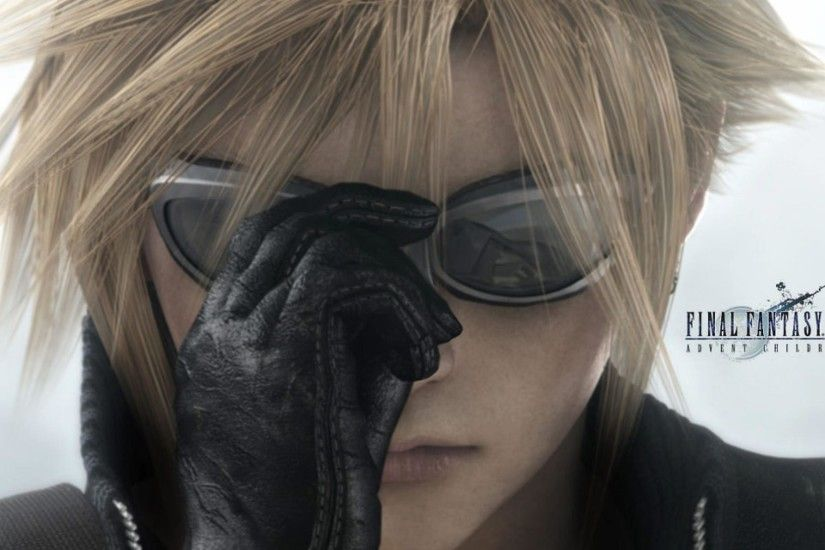 Final Fantasy 7 Advent Children Cloud Wallpaper