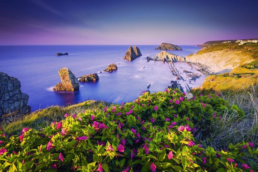 Costa Quebrada Cantabria Spain Coast