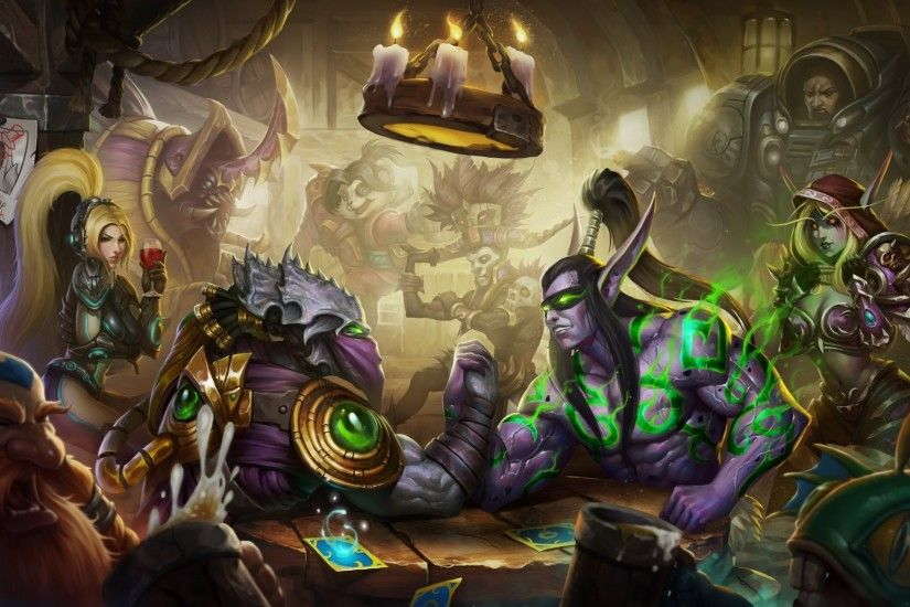 heroes of the storm illidan stormrage sylvanas nazeebo witch doctor viking  zeratul nova terra nova diablo