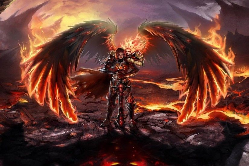 Angel Warrior HD Wallpapers Backgrounds Wallpaper