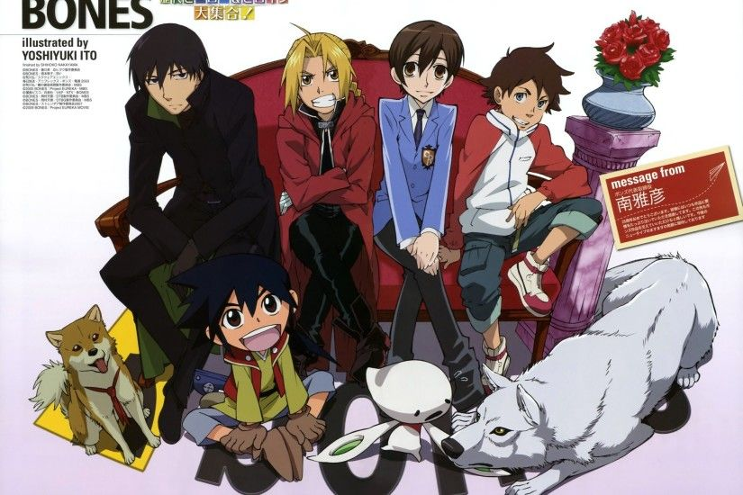 Awesome Elric Edward Hei Kiba Ouran High School Host Club Renton Thurston  Crossovers Stranger #wallpapers
