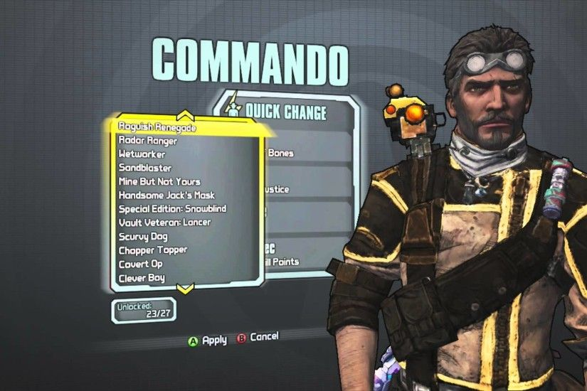 Borderlands 2 - Axton the Commando's Crown of Bones head and Lord of  Justice skin - YouTube