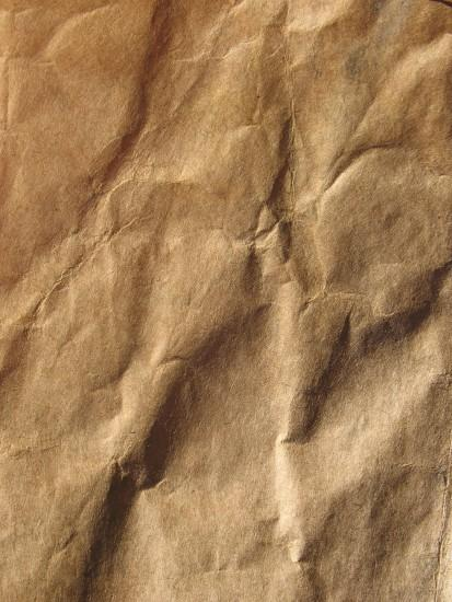 crumpled brown paper - texture - background - free - 1500 x 2000 px - jpg