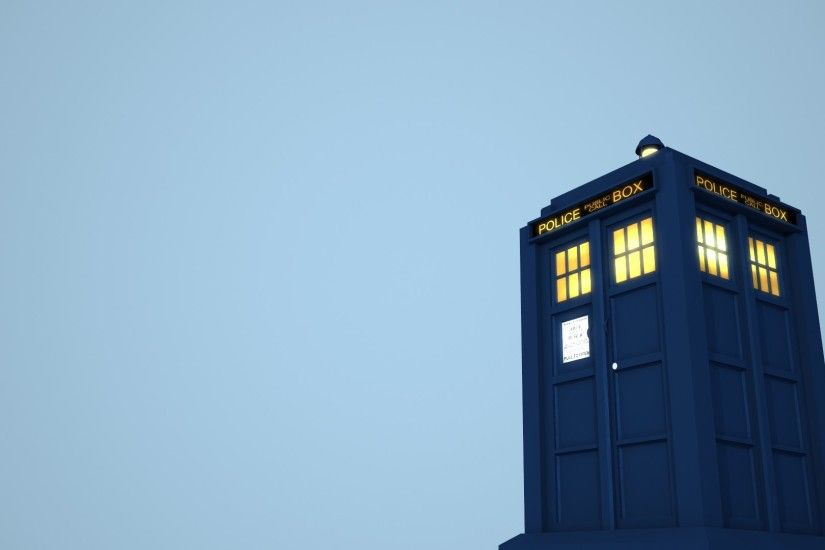 Tardis wallpaper test render.