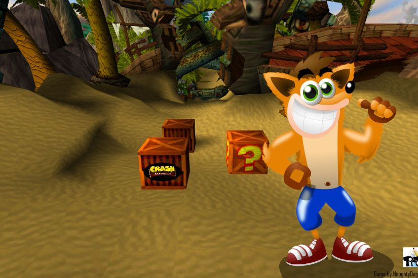 Crash Bandicoot Wallpaper 1920x1080 by MarkProductions Crash Bandicoot  Wallpaper 1920x1080 by MarkProductions