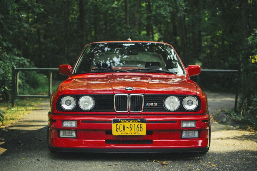 1920x1080 Wallpaper bmw, e30, m3, red, tuning