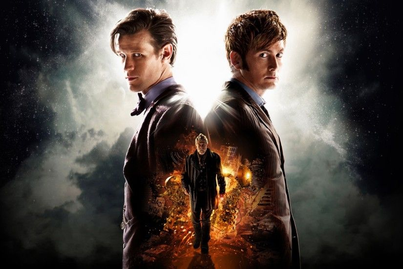 General 1920x1080 Doctor Who The Doctor Daleks TARDIS David Tennant Matt  Smith John Hurt Eleventh Doctor