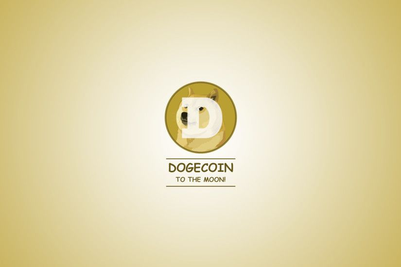 I made a somewhat minimalistic dogecoin wallpaper. Feel free to use it!