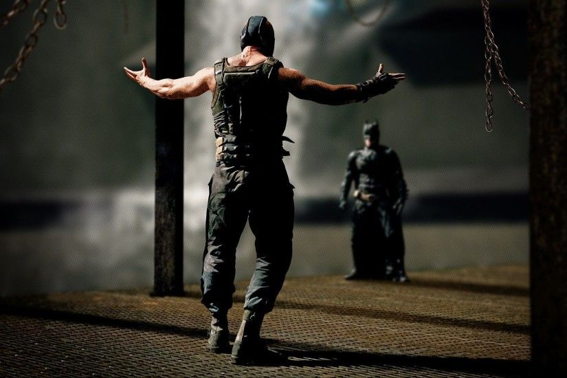 Batman vs Bane wallpaper