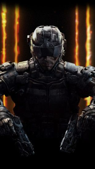 1080x1920 Wallpaper call of duty, black ops 3, activision publishing