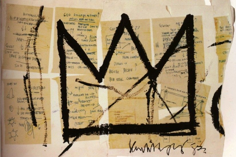 Basquiat Crown Iphone Wallpaper 19918 | IMGFLASH