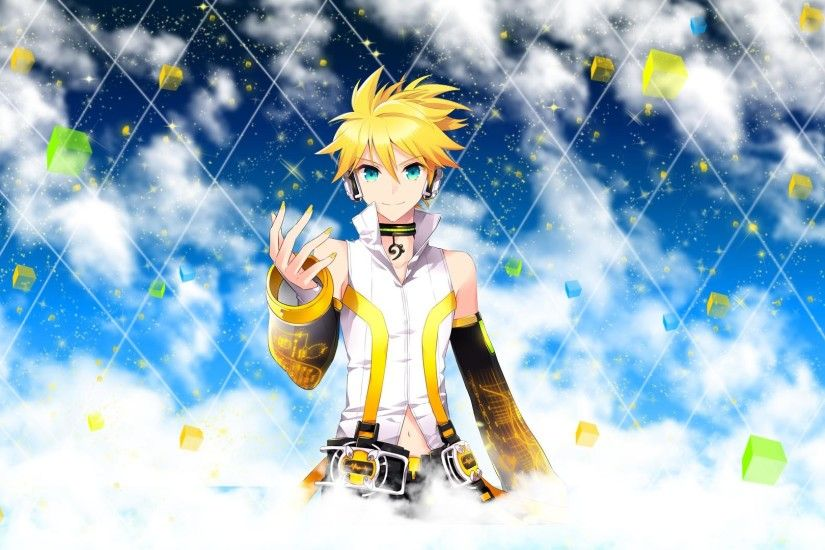 ... 02 Len Kagamine Append Wallpaper (2) by ng9