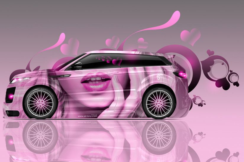 Land-Rover-Evoque-Side-Glamour-Girl-Lips-Aerography-